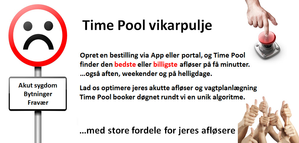 Time Pool vikarpulje